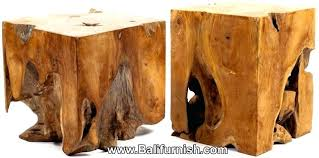 wooden cubes furniture. Wooden Cube Furniture Teak Root Wood Block Table Or Lamp Stand . Cubes