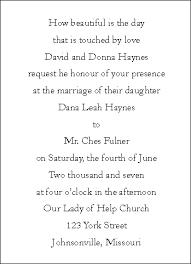 Sample Wedding Invitation Wording Romantic Wedding Invitation Wording Wedding Invitation