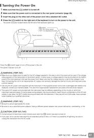 Ydp 161 Ydp 141 Owners Manual For Information On