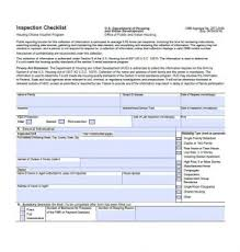 Professional Home Inspection Checklist Template Business