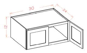 24 deep rta kitchen cabinet
