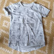 Light Blue Cactus Boys Next Light Blue Cactus Pattern T Shirt Worn Depop