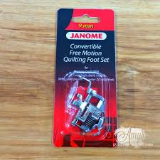 Janome Convertible Free Motion Foot Set for 9mm Machines | Amy's ... & Janome Convertible Free Motion Foot Set for 9mm Machines Adamdwight.com