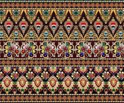 Textile Designs Pictures Digital Border Design For Textile 698 Digital Designs