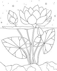 Tranh tô màu hoa sen - Tettrungthukingdom