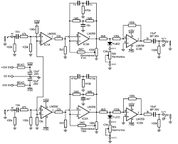 ken stone s modular synthesizer the schematic of the drum simulator