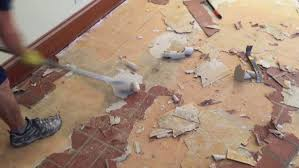 removing an old linoleum or vinyl floor can sometimes be fairly easy but what s under it glue noooooo now you re faced with gobs of old glue or adhesive