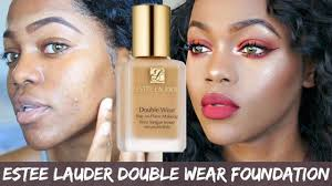 estee lauder double wear foundation review on oily skin luchi loyale