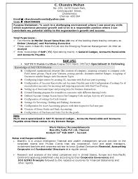 Fresher Resumes Format It Resume Cover Letter Sample