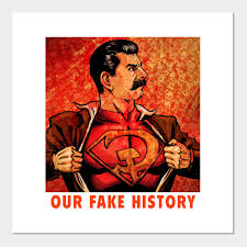 A New Chart Of History Poster Stalin