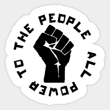 Power to the people fist