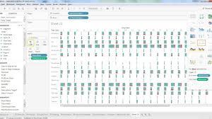 Gantt Bar Chart Tableau Tableau Tutorial 30 How To Create Gantt Chart In Tableau