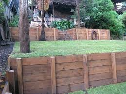 wooden retaining walls wood wall ideas irrational best on