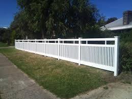 vinyl picket fence front yard. Picket Fencing Inspiration - Mathos PVC Australia | Hipages.com.au Vinyl Fence Front Yard I