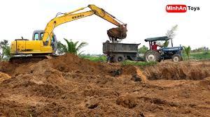 Máy xúc đất có nhạc (Excavator) | Nhạc thiếu nhi hay nhất hiện nay cover