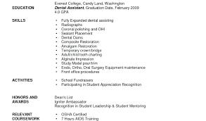 Dental Assistant Objective For Resume Objective For Medical Resume Objective Medical Assistant Resume 85