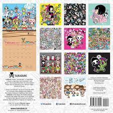 Small Picture tokidoki 2017 Wall Calendar Simone Legno 0676728032052 Amazon