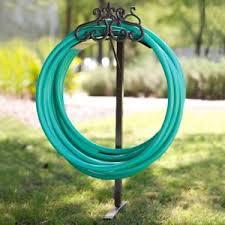 garden hose stand. Plain Hose Image Is Loading HamptonBayGardenWaterHoseStandCopperDecorative Intended Garden Hose Stand