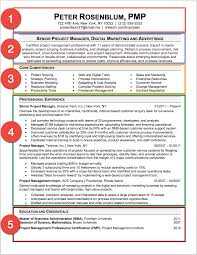 linkedin resume format project manager resume sample a step by step guide