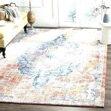 bohemian area rugs blue orange polyester rug furniture design divider bohemian area rugs