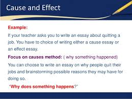 the crucible cause and effect essay format annotated  good topics for a cause and effect essay format