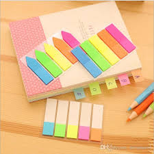 Candy Color Sticker Post It Bookmark Marker Memo Flags Index Tab