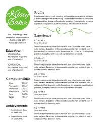 Instant Resume Templates Best Instant Resume Template Instant Resume Templates Download Rapid