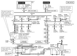 my 1998 ford ranger will not crank over have power the lights here is the wiring diagram