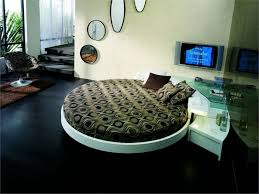 Round Beds Contemporary Leather Round Beds By Prealpi Dweefcom Bright