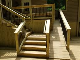 outdoor dog ramp and stairs