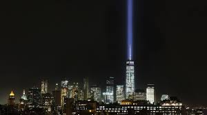 9 11 Lights Live 9 11 Tribute Lights Briefly Shut Off After Birds Get Trapped