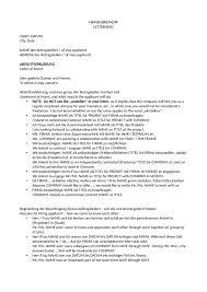 letter of intent template for the