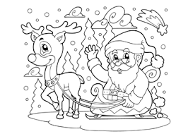 Kids N Fun 35 Kleurplaten Van Frozen Rendier Kleurplaat Printen