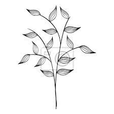 Obraz Naturals Kytky Tetování Ikonu Vektorové Ilustrační Výprava Kreslený