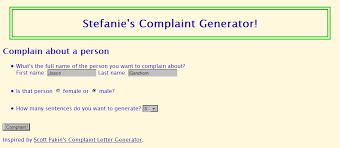 ransom letter generator cse 190 m section 4 complaint letter generator
