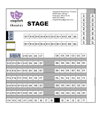 Seating Chart Stageloft Repertory Theater