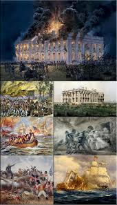 british troops set fire to the white house on august 24 1814