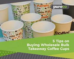 You'll find bulk mugs for sublimation in lots of great colors, sizes and materials to fit your needs. 5 Tips On Buying Wholesale Bulk Takeaway Coffee Cups