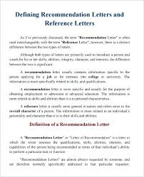 Letter Of Character Template Character Reference Template Free