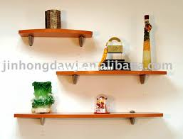 Small Picture Decorating Winsome Brown Wood Floating Shelf Bracket On White