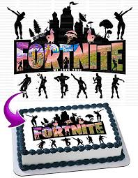 Battle Royale Edible Cake Topper Personalized Birthday 12 Size