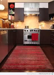 red area rug. W Studio Carpets