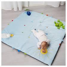 LEKA Play mat Blue 118x118 cm IKEA