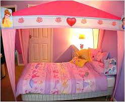Twin Bed Frame Canopy Princess Twin Bed Frame Twin Size Princess Bed ...