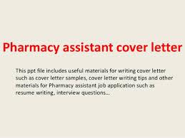 pharmacy assistant cover letter pharmacist cover letter 25052017 pharmacist cover letter sample