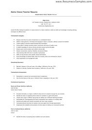 Dancer Resume Template. David Chan Portfolio Dancer Resume Work