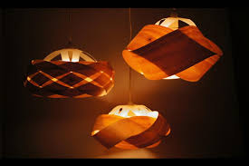 the thin twisted and wrapped wooden light shades from minnow