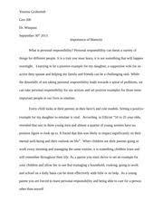 stephens gen wk personalresponsibilityessay running head 3 pages yeseniag gen200 wk2 personal responsibility rough draft
