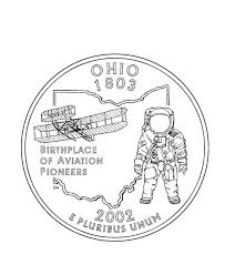 Small Picture Missouri State Quarter Coloring Page USA State Quarters