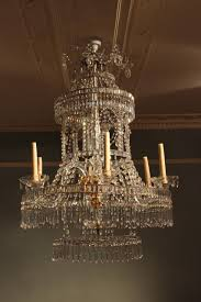 fine 18th century italian six arm chandelier